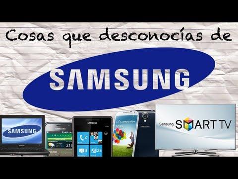 10 cosas desconocidas de Samsung