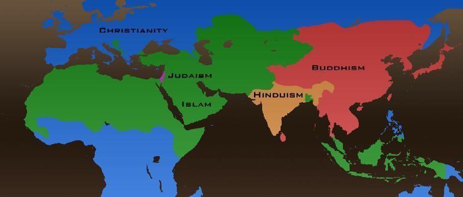 Mapa de Religion