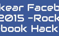 Hackear Facebook Rock