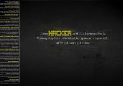Hacker Manifesto Wallpaper by Kiddojo